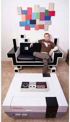 cool video game room