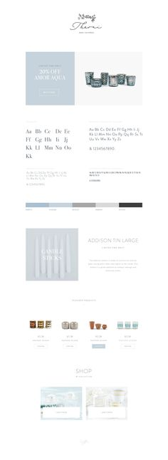 Building out the styleguide and website for Theoni Collection http://theonicollection.com #styleguide #typography #shop
