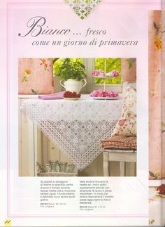 It's simple, free and blazing fast! Filet Crochet, Crochet Motif, Crochet Lace, Crochet Patterns, Crochet Dollies, Crochet Tablecloth, Crochet Magazine, Doilies, Free Pattern