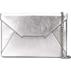 Michael Michael Kors Lana Envelope Clutch found on Polyvore