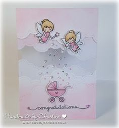 """31 Likes, 5 Comments - @cardsbychristine on Instagram: """"I loved making this card using the fabulous Fairy Friends from Lawn Fawn. I made it for our 'Make…"""""""