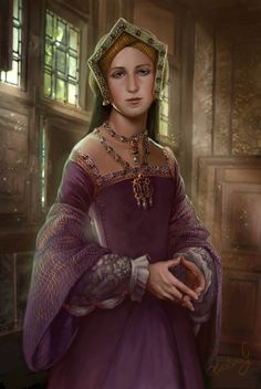 Tudor Queens - Jane Seymour third wife of King Henry VIII of England...... by KristinaGehrmann