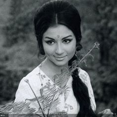 """50 Beautiful Faces in Bollywood"": Sharmila Tagore"