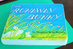 Before Five in a Row: The Runaway Bunny- activity ideas, including tightrope walking and comparing the illustrations between Runaway Bunny and Goodnight Moon