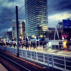 Metro station Amsterdam zuid