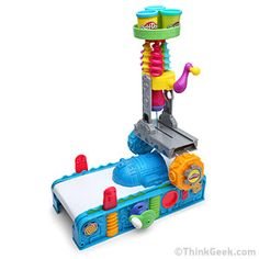 ThinkGeek's April Fool's Day joke: the Play-Doh 3D printer. As an actual employee of the Play-Doh brand, this is just too much for me to handle.