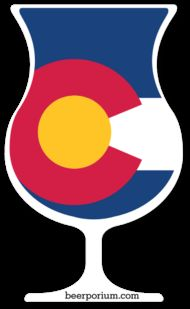 Colorado Craft Beer Sticker - Tulip Glass