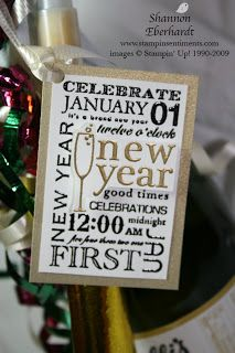 Stampin' Sentiments: Happy New Year: Gift Ideas-Day 18