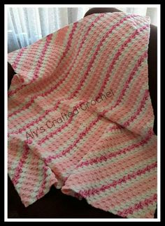 Gorgeous little crochet corner to corner blanket, recently fresh off the hook from Aly's Crafted Crochet. Find me on Facebook https://www.facebook.com/AlysCrafts