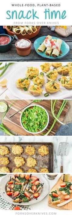 10 Insanely Good Snacks - Forks Over Knives