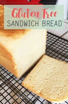 4 years, off and on, trying to find a decent gluten free sandwich bread recipe, I have finally found one my littles & I love! I found the Bob's Red Mill Gluten Free Baking Fl… Gluten Free Flour, Gluten Free Baking, Best Gluten Free Bread, Gluten Free Recipes Bread Machine, Gluten Free Homemade Bread, Best Gluten Free Sandwich Bread Recipe, Gluten Free White Bread Recipe, Wheat Free Bread, Dairy Free