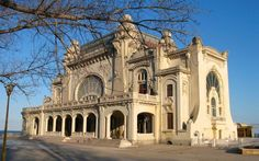 casino in Constanta, Romania Casino Night Party, Casino Theme Parties, Monuments, Casino Royale Movie, Art Nouveau Architecture, Classic Architecture, Organic Architecture, Abandoned Places, Barcelona Cathedral
