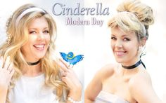 Get the Look! A fun Day to Night hair and makeup tutorial to become a modern day Cinderella.