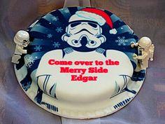 Chez Maximka: Christmas Trooper cake from Baker Days