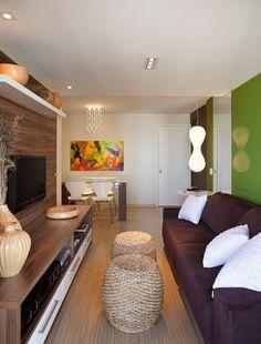Living Room, Interior Design  Sala de Estar, Design de Interiores. #byAngelaMeza https://www.facebook.com/Angelameza.arquitetura