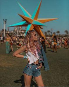 Coachella day 1  @elenellis,@pinkpineappkefashionblog     #SpringStyle #shopthelook #ShopStyle #BeachVacation #FestivalLooks #TravelOutfit #WeekendLook