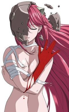 (2) Lucy from Elfen lied