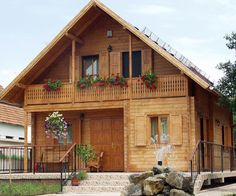 Most beautiful wooden home with flower ornaments