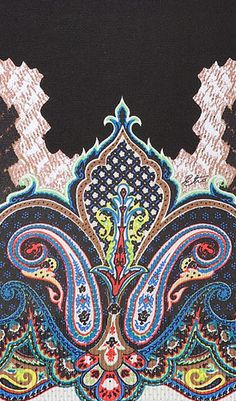 Etro Silk Pullover Paisley Detail