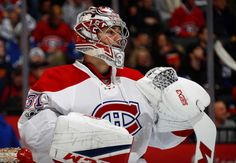 TORONTO, ON - JANUARY 7: Carey Price #31 of the Montreal Canadiens prepares to face the Toronto Maple Leafs during the first period at the Air Canada Centre on January 7, 2017 in Toronto, Ontario, Canada. (Photo by Mark Blinch/NHLI via Getty Images)