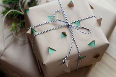 Cut out | 15 Stunning Gift Wrapping Ideas For The Minimalist In You