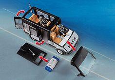 Playmobil 6043 City Action Police Van: Amazon.co.uk: Toys & Games