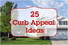 25 curb appeal ideas