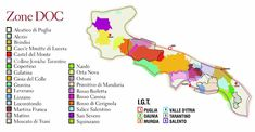 DOC Puglia map.