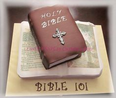 Bible cake - Cake by curiAUSSIEty custom cakes