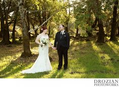 Gorgeous winter wedding at Paradise Ridge Winery #winterwedding #ParadiseRidgeWinery #Drozian #Photoworks
