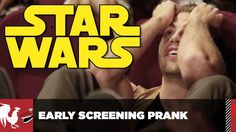 This fan of Star Wars became victim of a mean prank and thought he has become a part of the early screening of the series of Star Wars. The damage was very much obvious and as expected. Watch this video here. Facebook Comments Related