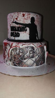 Walking Dead Cake on Cake Central
