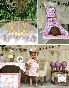 Castle Pony Party with CUTE Ideas via Kara's Party Ideas Kara'sPartyIdeas.com #Castles #Ponies #PartyIdeas #Supplies #Carriages