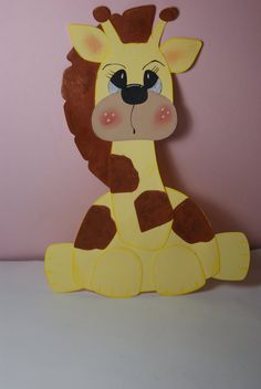 Handmade Giraffe Paper Piecing for Scrapbook die by craftiechicks, $5.00