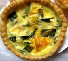 A Cheap Picnic Lunch - Leek and Bacon Quiche Recipe Easy Picnic Food Ideas