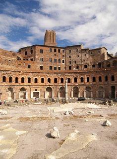 Scorcio del Mercato Traianeo - Rome, Lazio / TrekEarth