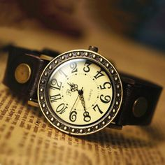 Women+Leather+Watch+Women+Watches+Leather+by+TKTIME+on+Etsy,+$17.50