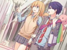 Tags: PNG Conversion, Nana-ko Kaiyou, Shigatsu wa Kimi no Uso, Miyazono Kaori, Arima Kousei Your Lie In April, Manga Anime, Anime Art, Sword Art Online, Live Action, Anime Couples, Cute Couples, Hikaru Nara, Miyazono Kaori