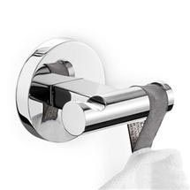 Bathroom A Option Robe or Towel Hook; Zack - Scala Modern Stainless Steel Double Towel Hook - 40063 - Behind the door - Bathroom Door Hooks, Wall Hooks, Towel Bar Height, Hanging Clothes, Towel Hooks, Lowes Home Improvements, Bathroom Accessories, Crochet, Keep It Cleaner
