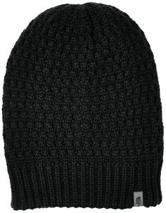The North Face Shinsky Beanie TNF Black One Size. Slouchy fit. Top off  winter b96bfefc9446