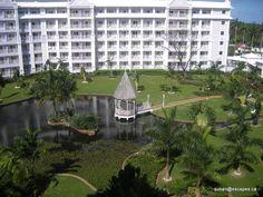 Riu Ocho Rios Jamaica, with a cute little garden gazebo for small weddings