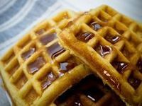 How to make waffles at home French Toast Waffles, Crepes And Waffles, Dessert Drinks, Dessert Recipes, Desserts, Frangipane Recipes, Cantaloupe Recipes, Salads, Gastronomia