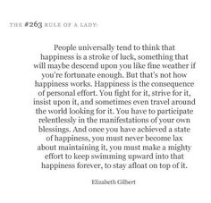 the rules of a lady list | elizabeth gilbert, quotations, rules of a lady - inspiring picture on ...