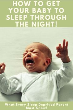 ATTENTION SLEEP DEPRIVED MOMS! Are you struggling to get your baby to sleep through the night? First off It is possible to get your baby to sleep through the night. I PROMISE! If you are ready to start getting your sleep and life back click now to see how you can start getting your baby to sleep through the night!