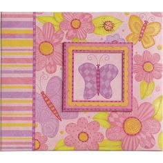 """Show details for Young Girl Postbound Scrapbook 12""""X12"""""""