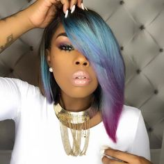 Beautiful blunt bob haircuts wigs for black women lace front wigs human hair wigs african american wigs buy now Black Girls Hairstyles, Girl Hairstyles, Hairstyles 2016, American Hairstyles, Latest Hairstyles, Short Weave Hairstyles, Medium Hairstyle, Funky Hairstyles, Beautiful Hairstyles