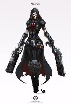 overwatch___reaper_by_monorirogue-d86d64d.jpg (1024×1507)