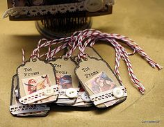 Christmas gift tag ideas from craftygoodies.com