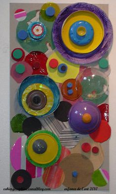 2-D and 3-D Circles and Concentric Circles. Individual and collaborative fun.
