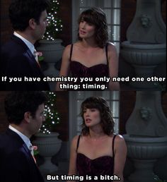 "When Robin revealed the secret to a successful relationship. 23 Times ""How I Met Your Mother"" Got Way, Way Too Real How I Met Your Mother, Robin Scherbatsky, Citations Film, Vida Real, Successful Relationships, Himym, Tv Show Quotes, I Meet You, Mother Quotes"